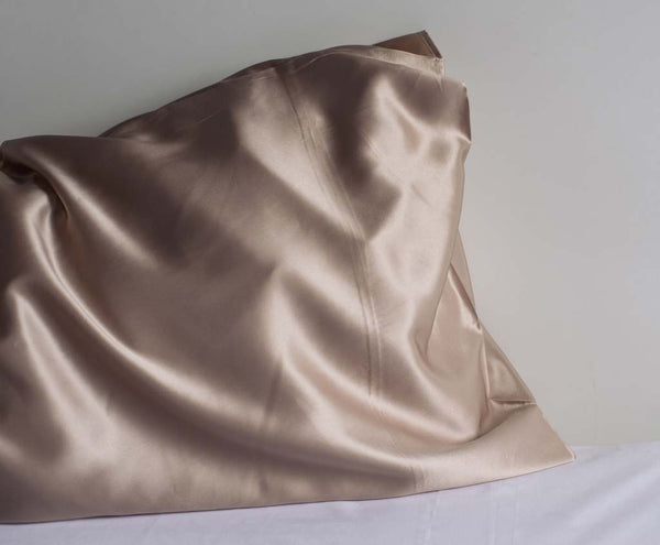 Luxury sexy sand silk pillowcase
