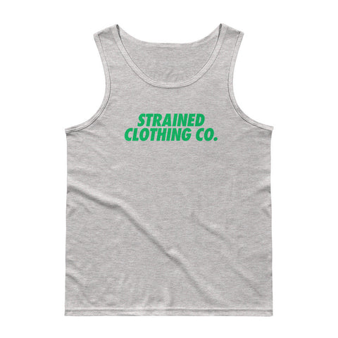 OG Logo Tank Top - Heather Grey/Green