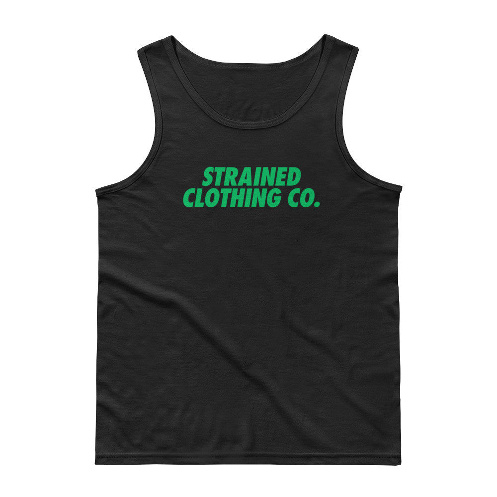 OG Logo Tank Top - Black/Green
