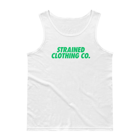 OG Logo Tank Top - White/Green
