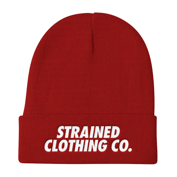 OG Logo Beanie - Red/White