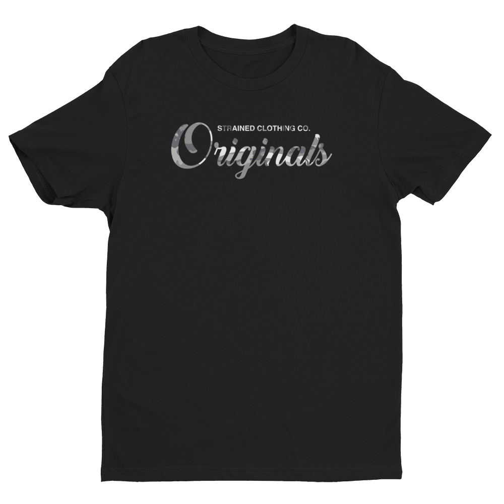 Originals Script T-Shirt - Urban Camo