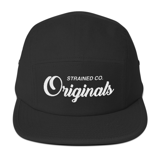 Originals Script - Black/White 5 Panel