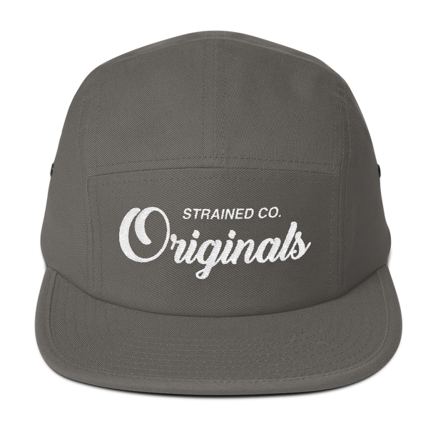 Originals Script - Grey/White 5 Panel