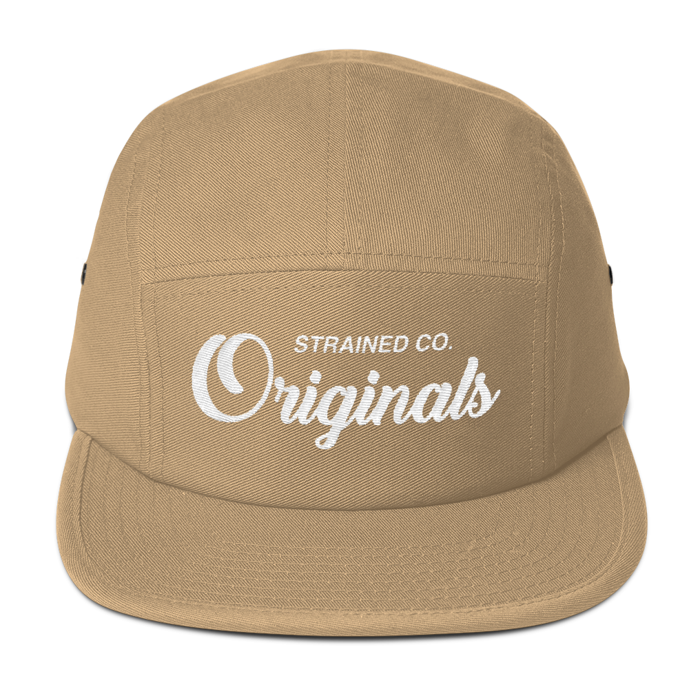 Originals Script - Khaki/White 5 Panel