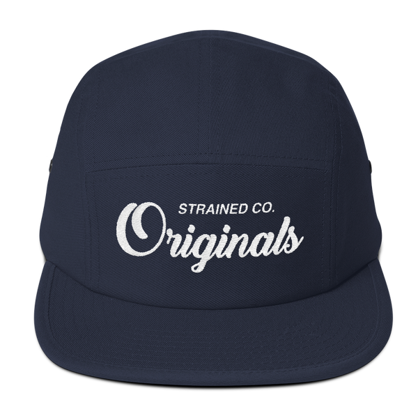 Originals Script - Navy/White 5 Panel