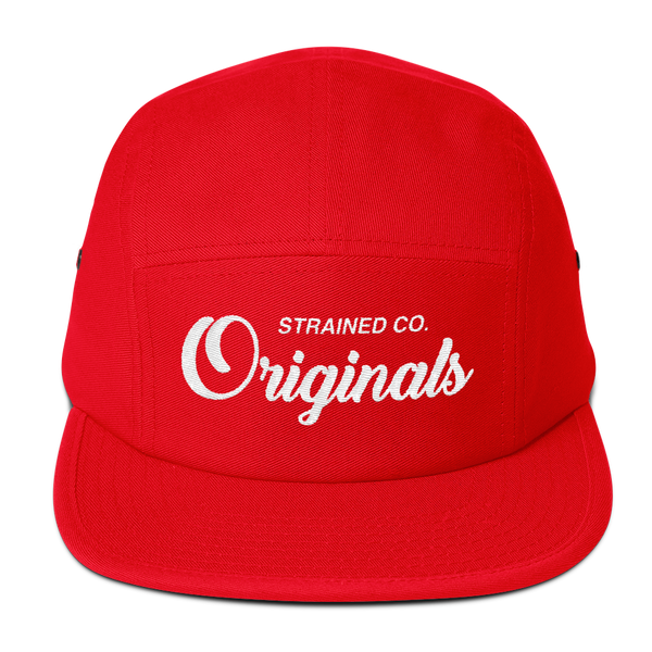Originals Script - Red/White 5 Panel