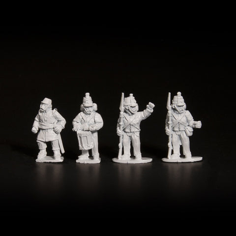 Bourbon Grenadiers Command - Standing