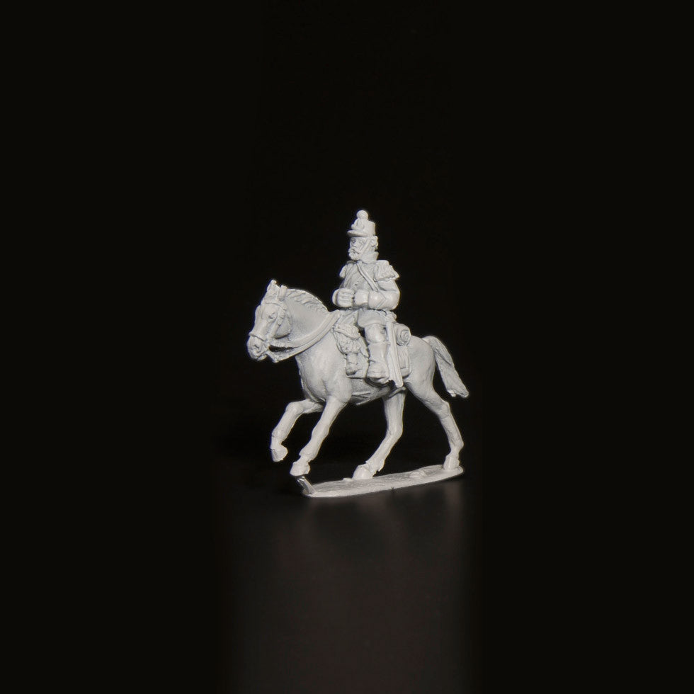 Bourbon Mounted Officer 1