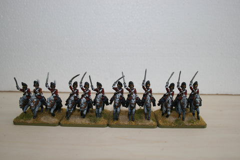 "British ""Scot Greys"" Cavalry Regiment"
