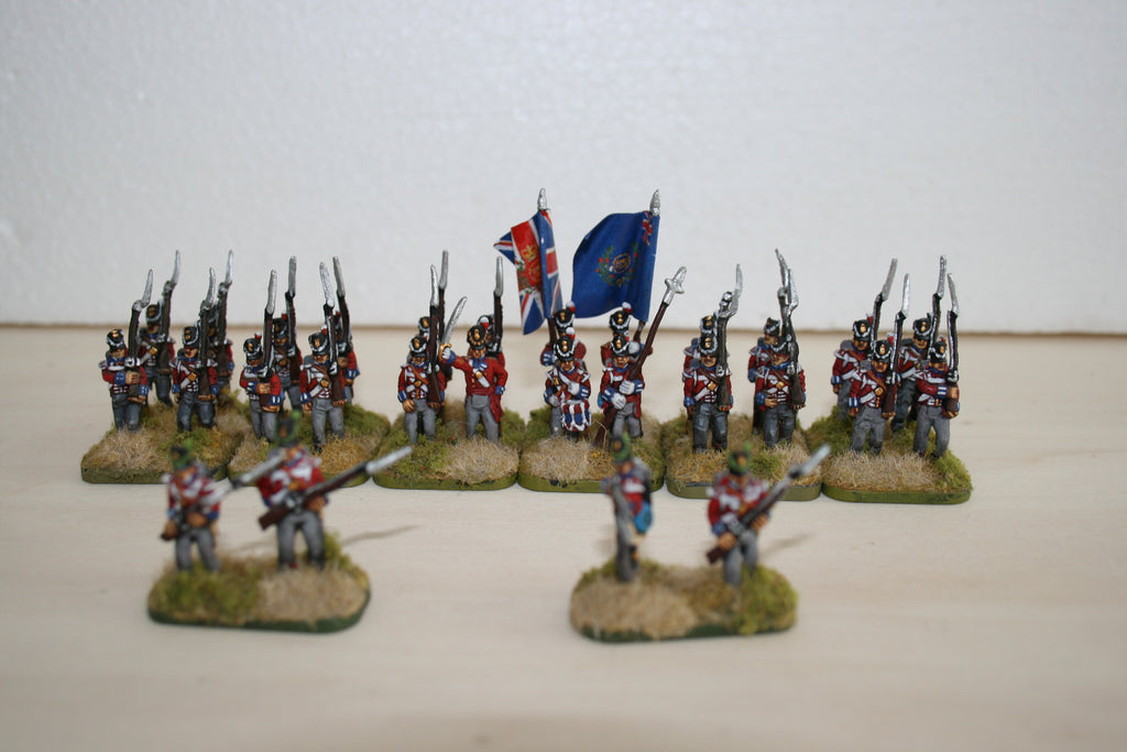 British Late Infantry Battalion