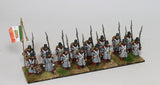 Bourbon Infantry in Great Coat Command - Marching