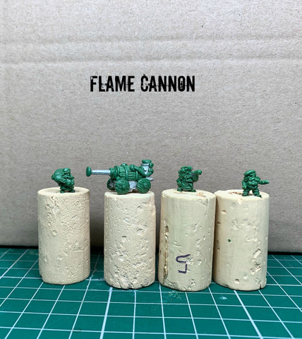 flame cannon