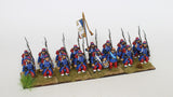French Infantry in Great Coats Command -  Marching