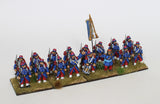 French Infantry in Great Coats Command - Standing