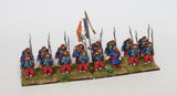 French Zouaves Command - Marching