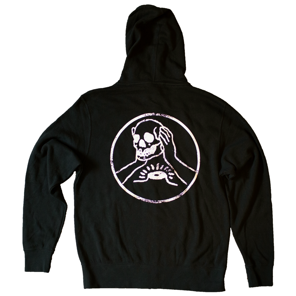 Against Me! Skull Zip-Up Hoodie