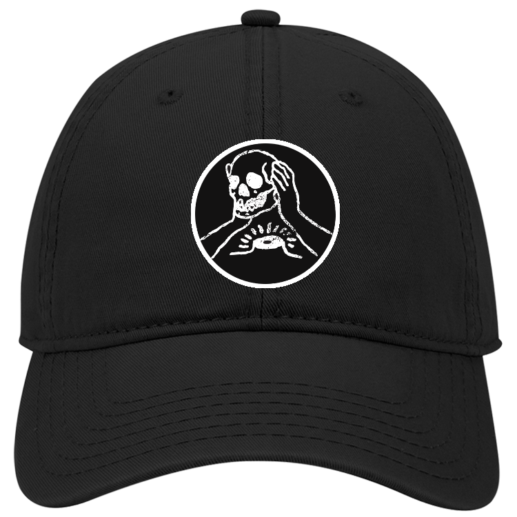 Circle Skull Patch Hat