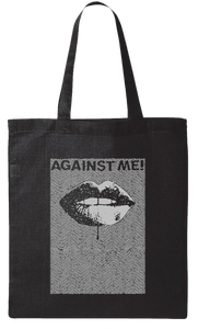 Against Me! Lips Tote Bag