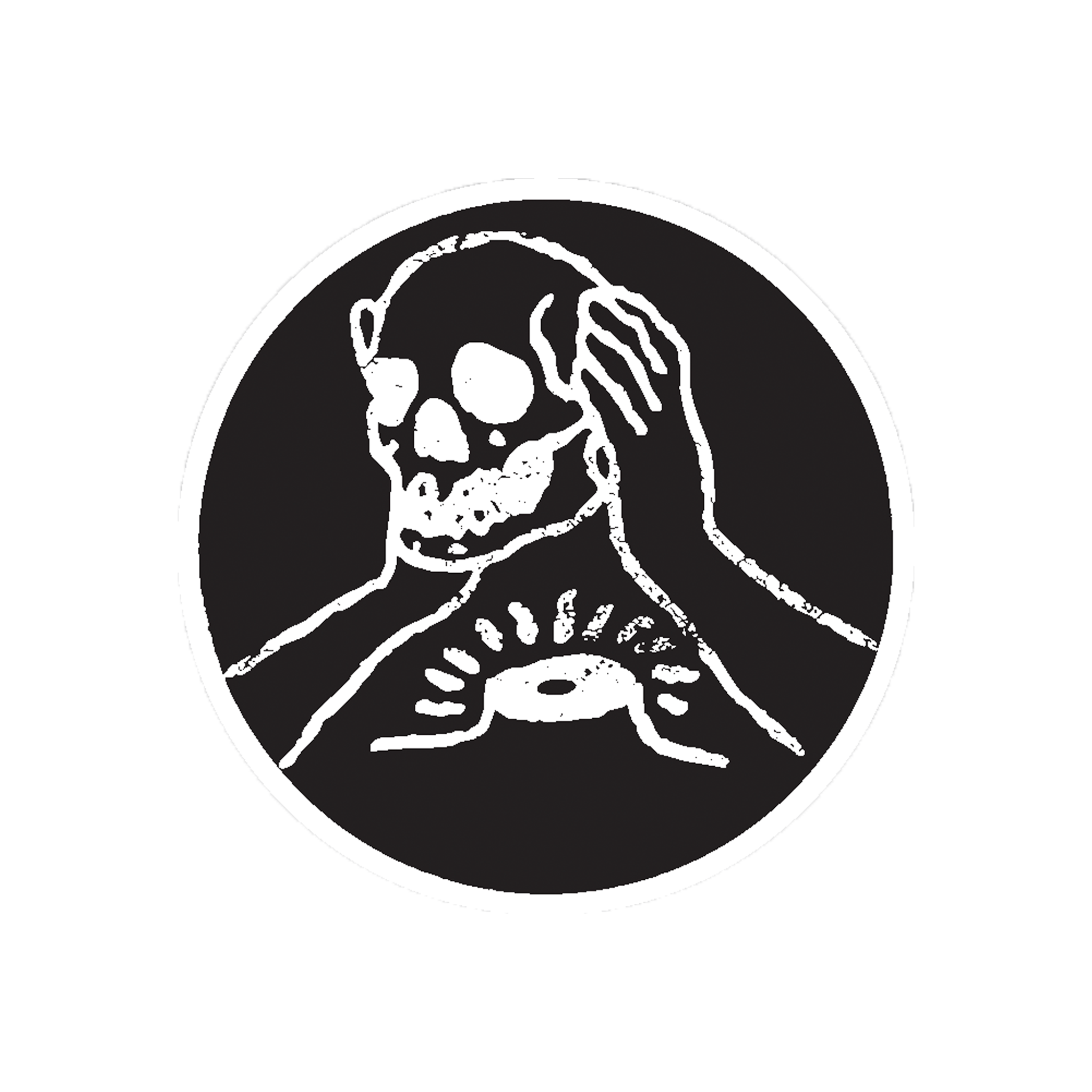Circle Skull Patch