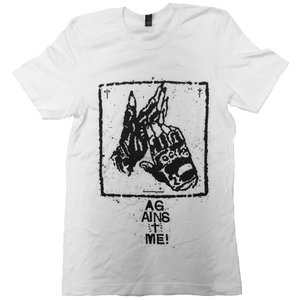 Against Me! Gloves White T-Shirt