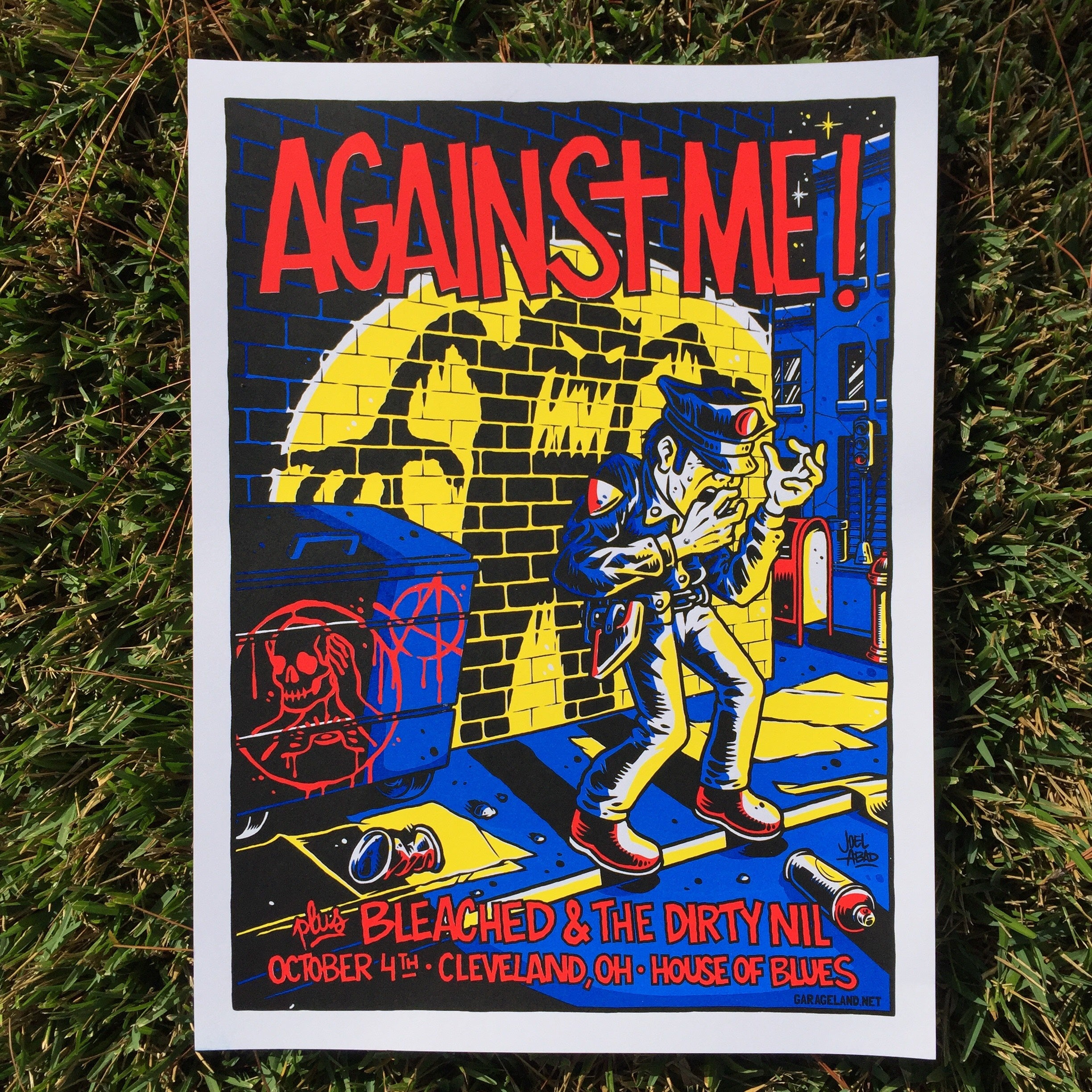 Against Me! MYSTERY TOUR POSTER BUNDLE