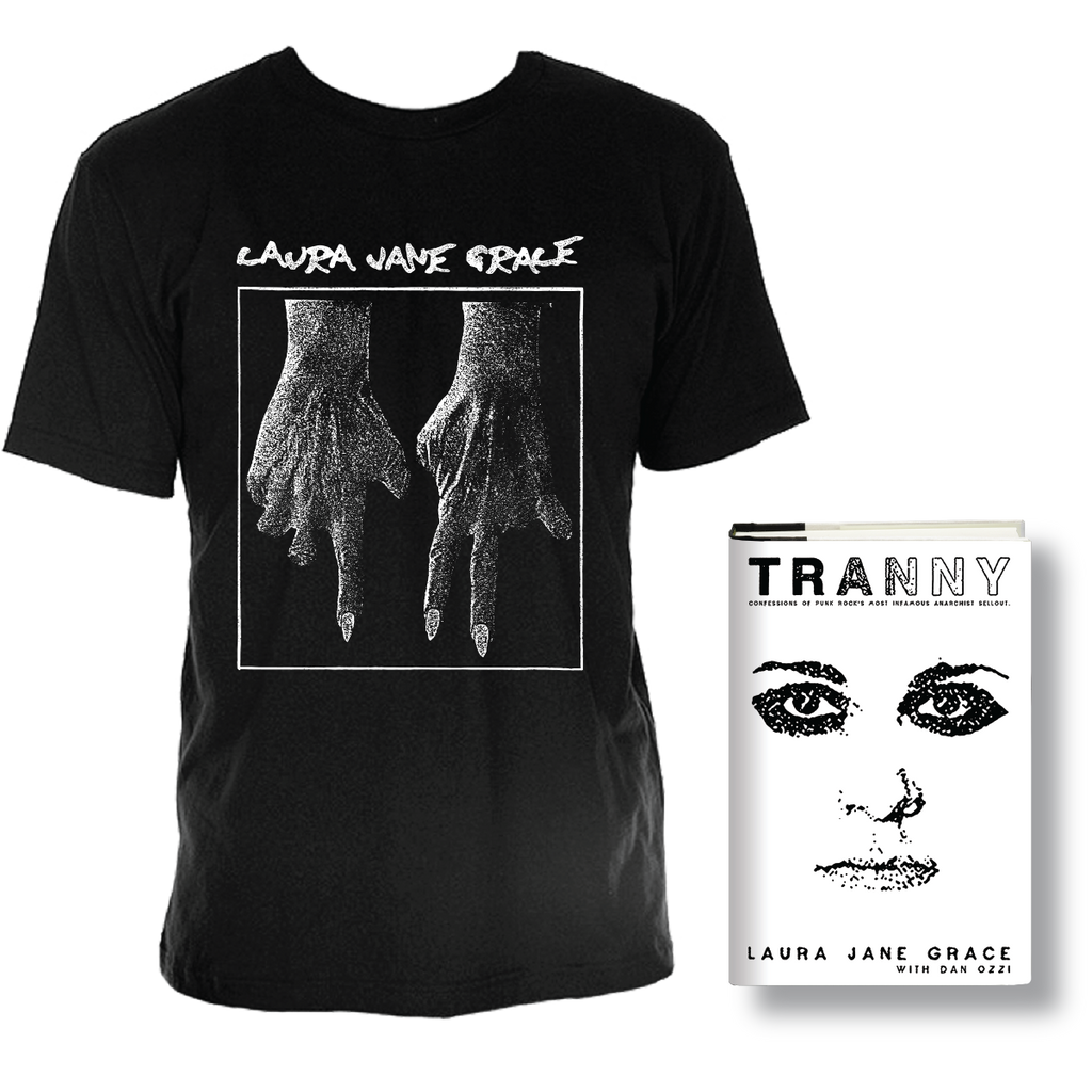 Tranny Hardcover Book + Shirt Bundle