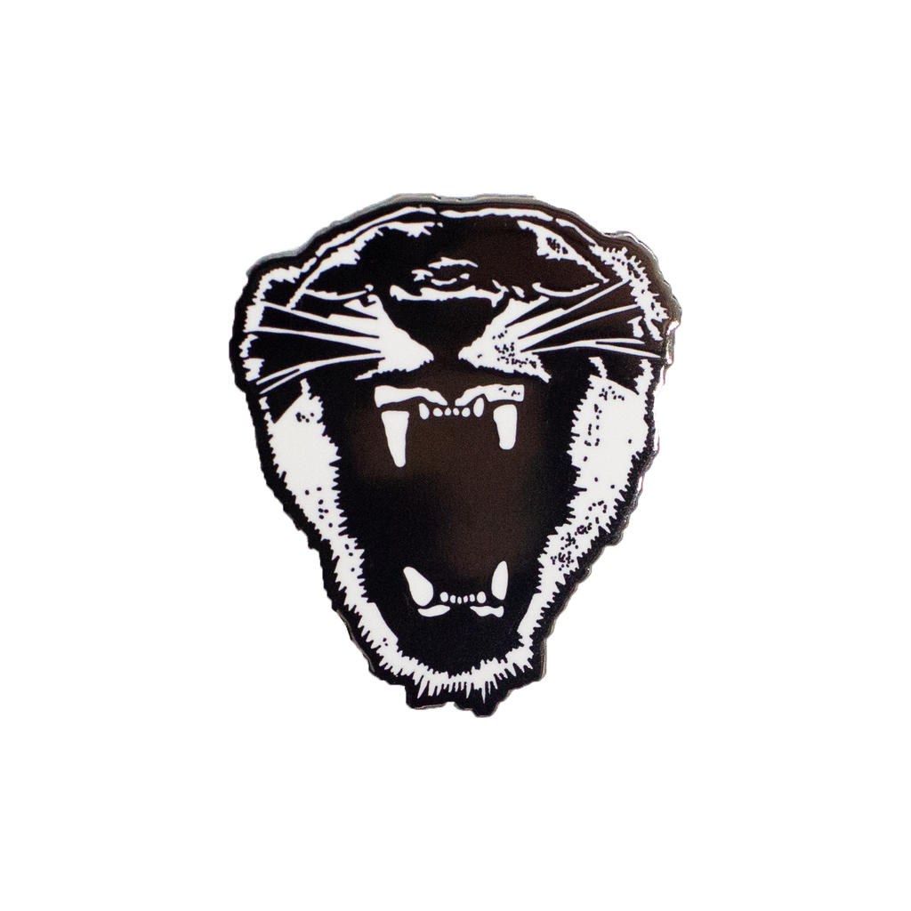 New Wave Panther Enamel Pin