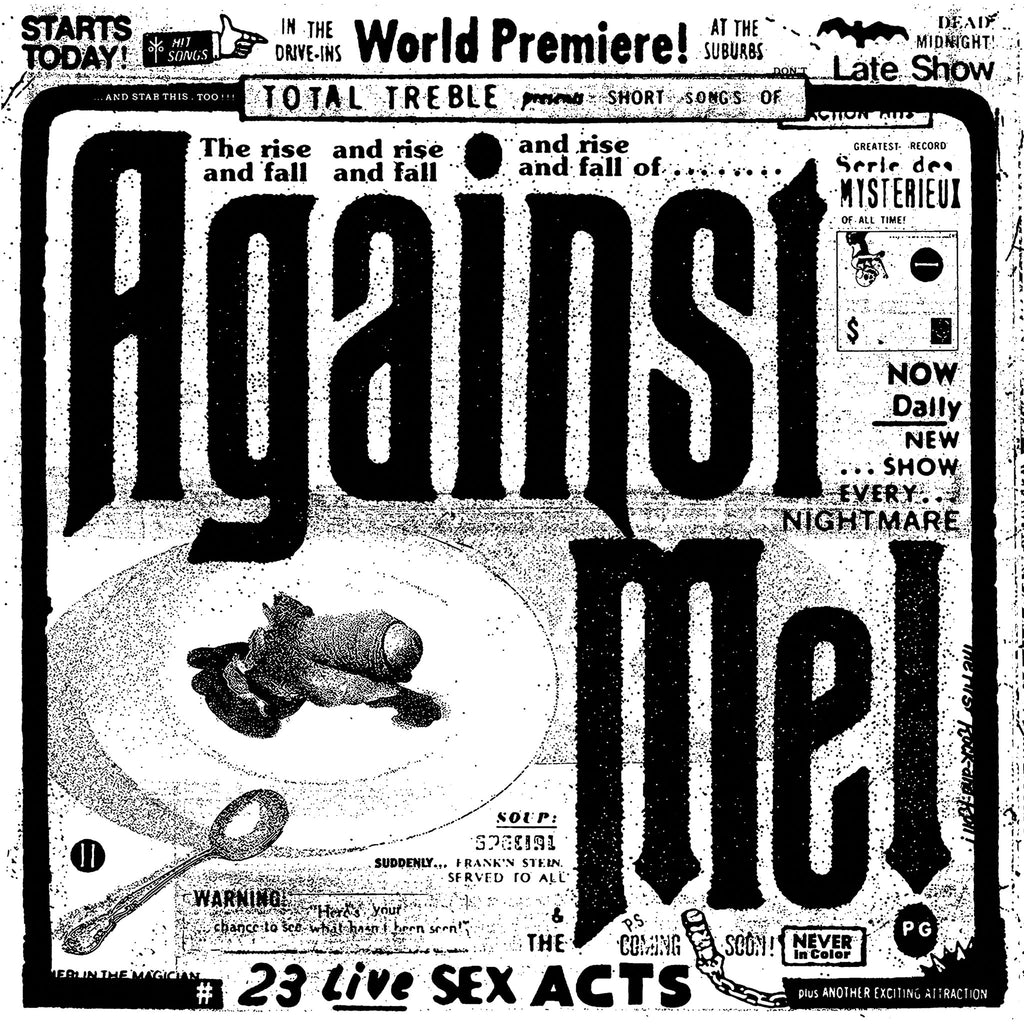 Against Me! - 23 Live Sex Acts - Vinyl CD