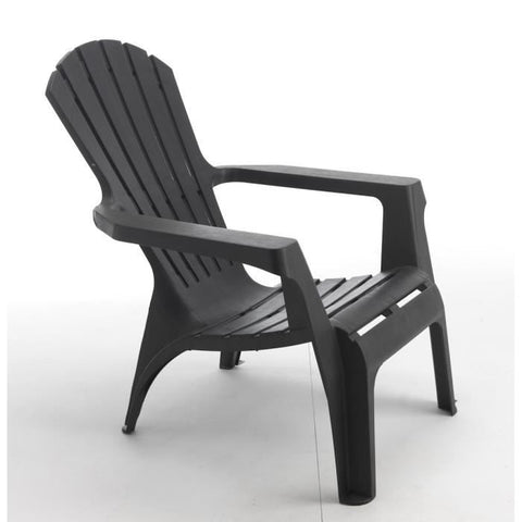 CHAISE ADIRONDACK GRISE