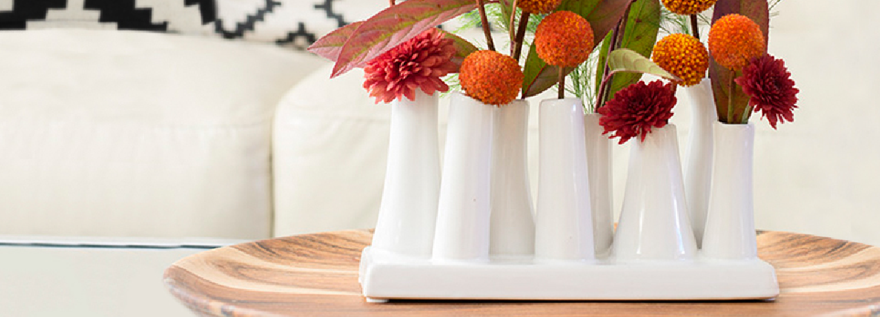 Pooley 2 Vases 8 Tube Pooley Chive Products Llc
