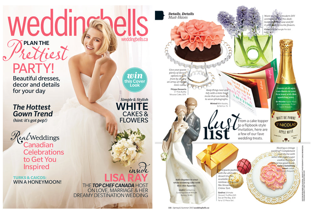 Wedding Bells Magazine - Lust List