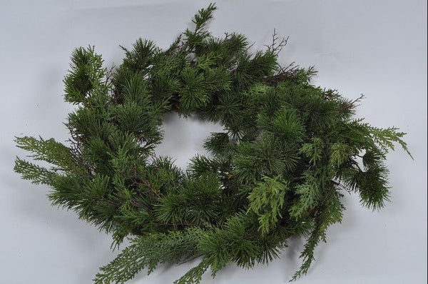 Fir Wreath | Couronne de Sapin 61cm Green
