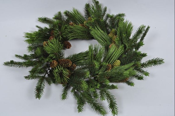 Fir Wreath | Couronne de Sapin 66cm Green