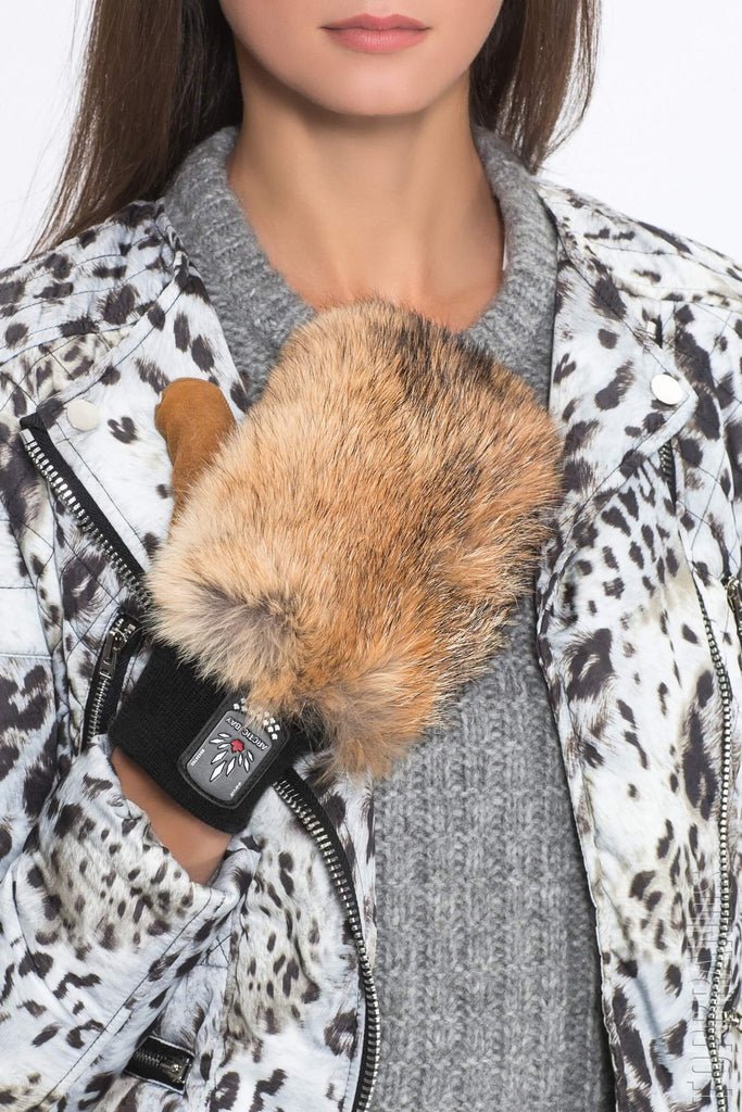 Coyote Fur Mitts | Winter accessories | Arctic Bay - Made in Canada