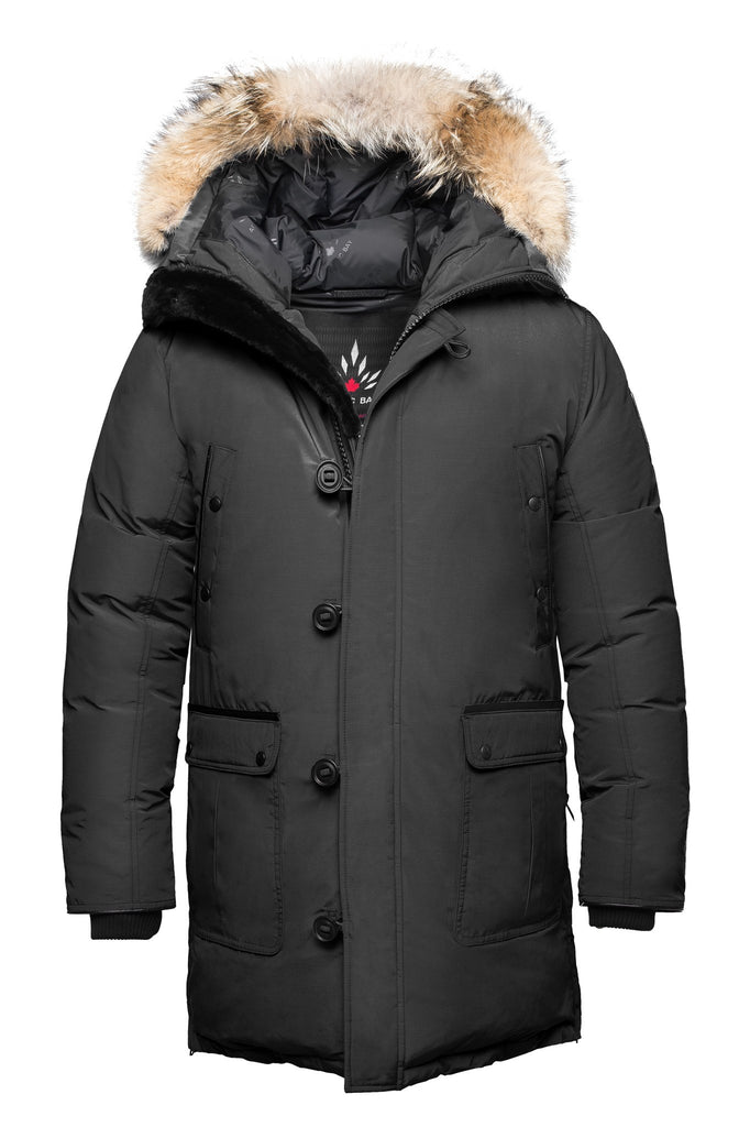 Alaska parka  |  Mens winter coat Canada | Arctic Bay - Made in Canada