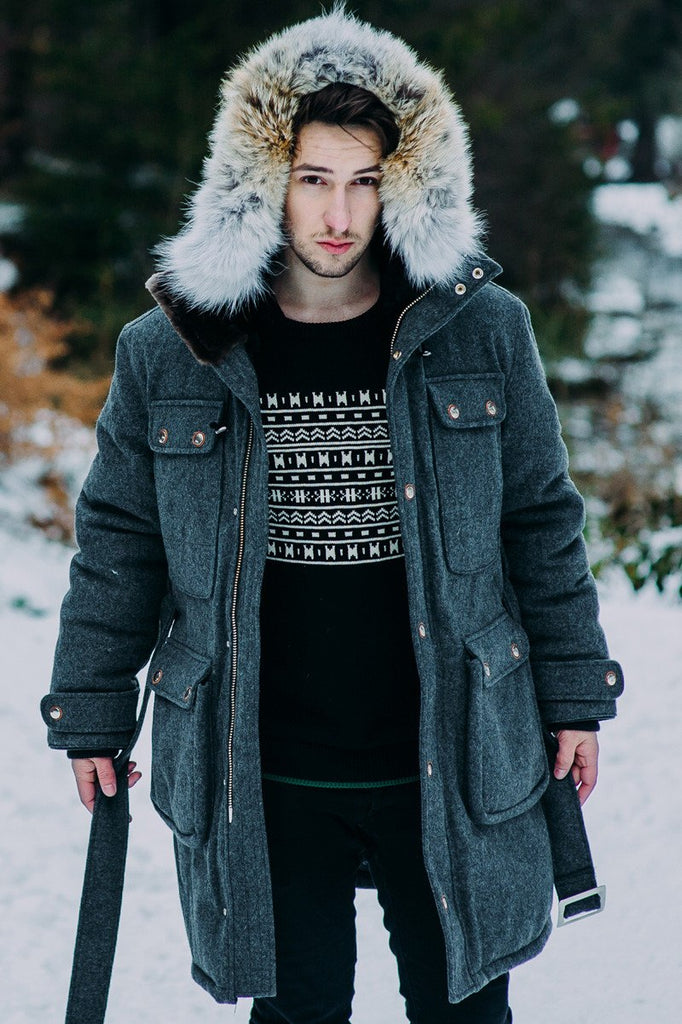 Antarctica parka |  Mens winter parka Canada | Arctic Bay - Made in Canada