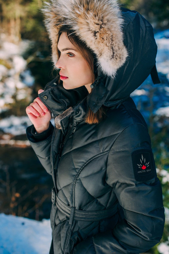 Kimberly parka | Womens winter jacket Canada | Arctic Bay - Made in Canada