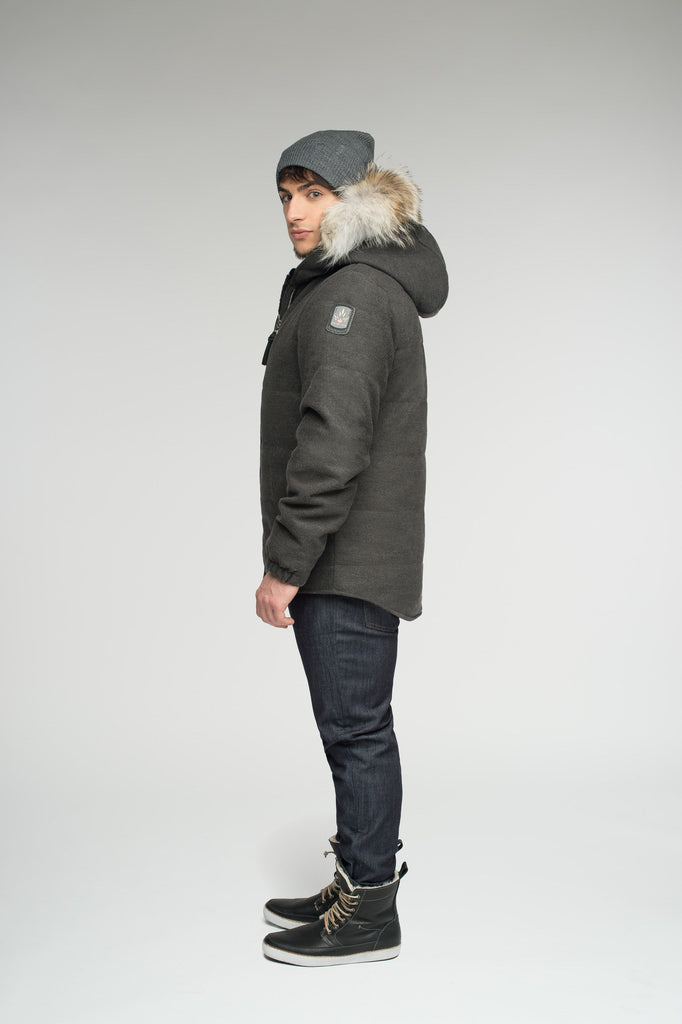 Cambridge jacket | Mens winter coat Canada | Arctic Bay - Made in Canada