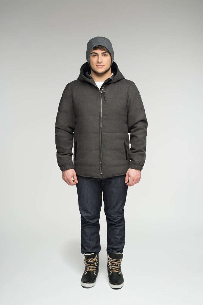 Cambridge jacket | Mens winter parka Canada | Arctic Bay - Made in Canada