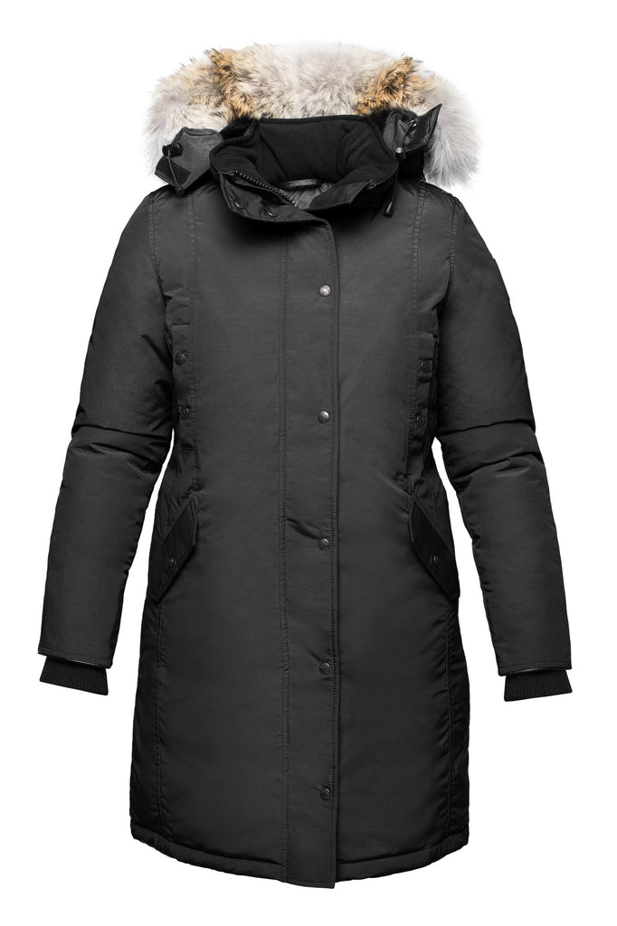 Charlotte parka | Womens winter parka Canada | Arctic Bay - Made in Canada