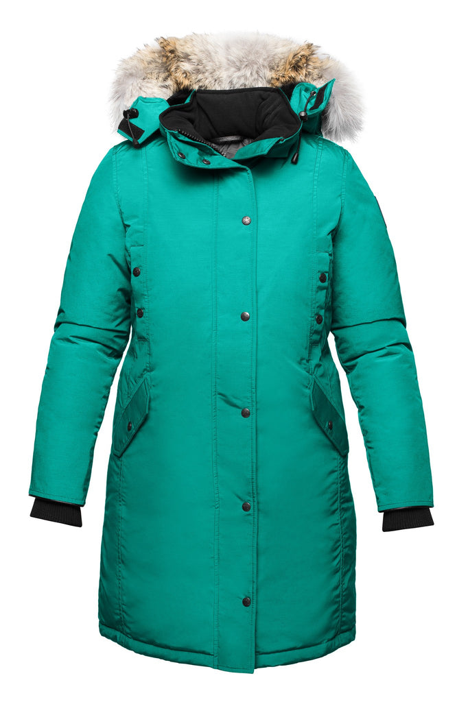 Charlotte parka | Womens winter jacket Canada | Arctic Bay - Made in Canada
