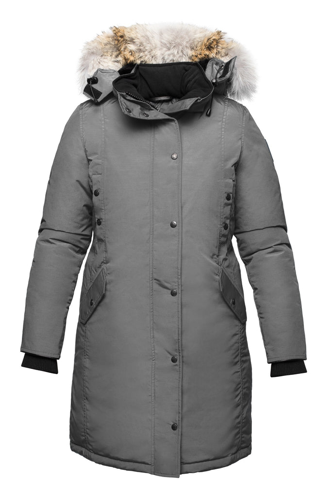 Charlotte parka | Winter down coat | Arctic Bay - Made in Canada