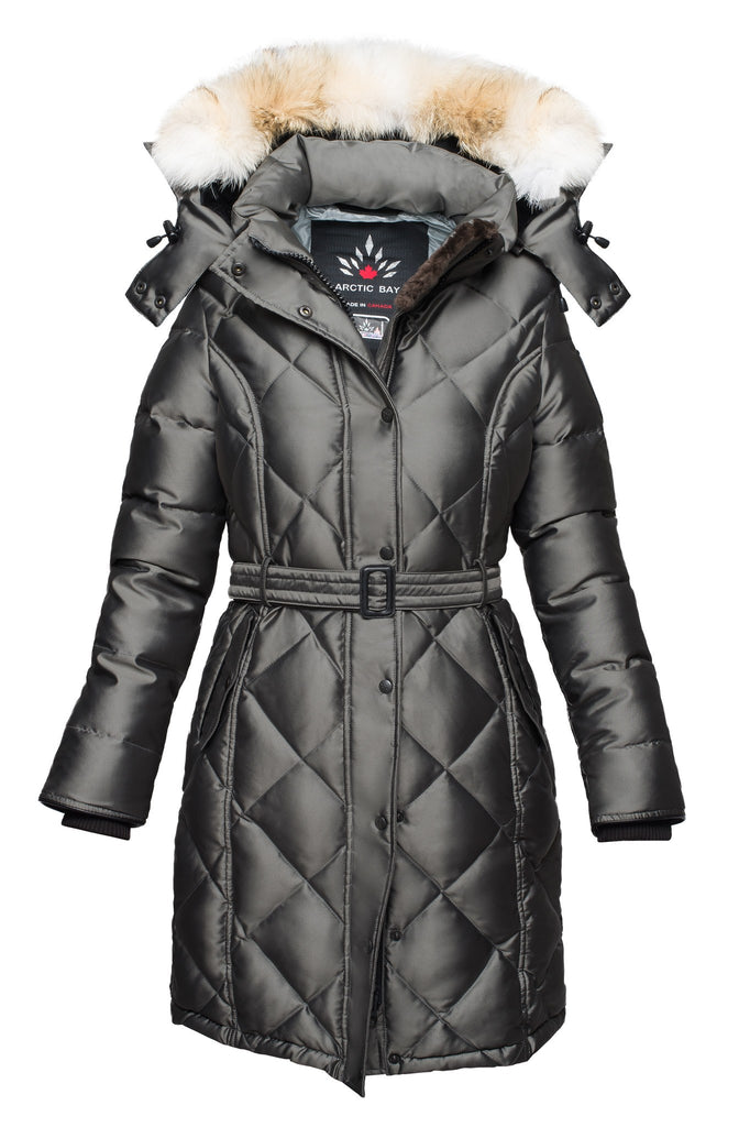 Kimberly parka | Womens winter coat Canada | Arctic Bay - Made in Canada