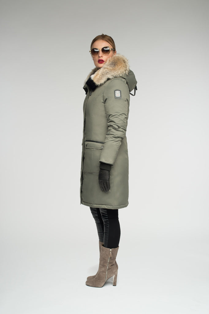 Mirabella parka | Winter down coat | Arctic Bay - Made in Canada