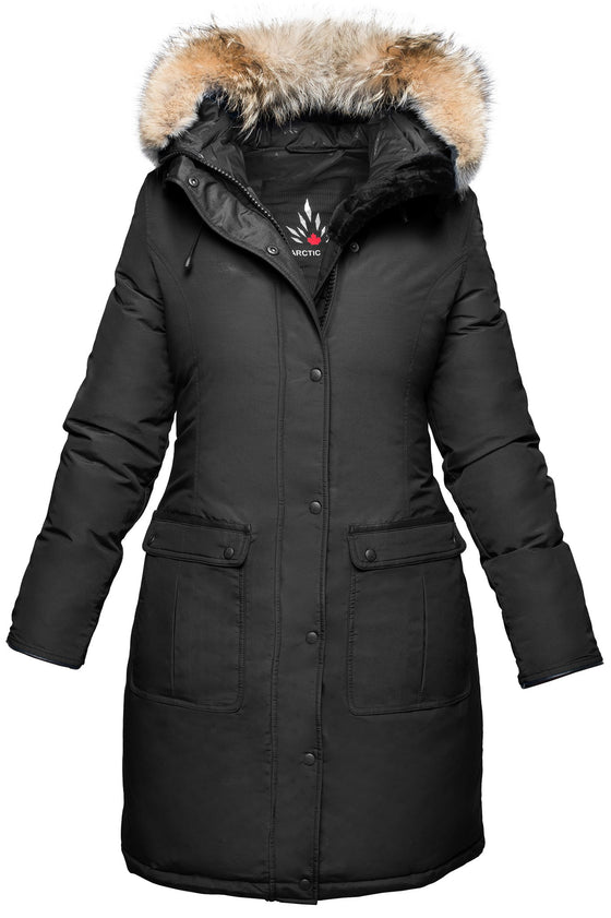 Women's Extreme Cold Weather Down Parks, Coats, and