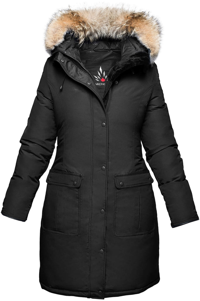Mirabella parka | Womens winter parka Canada | Arctic Bay - Made in Canada