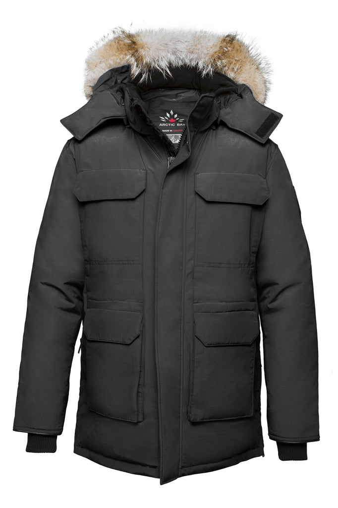 Nunavut parka | Mens winter parka Canada | Arctic Bay - Made in Canada