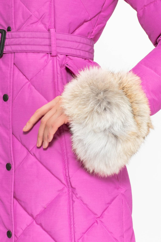 Coyote Fur Cuffs | Winter accessories | Arctic Bay - Made in Canada