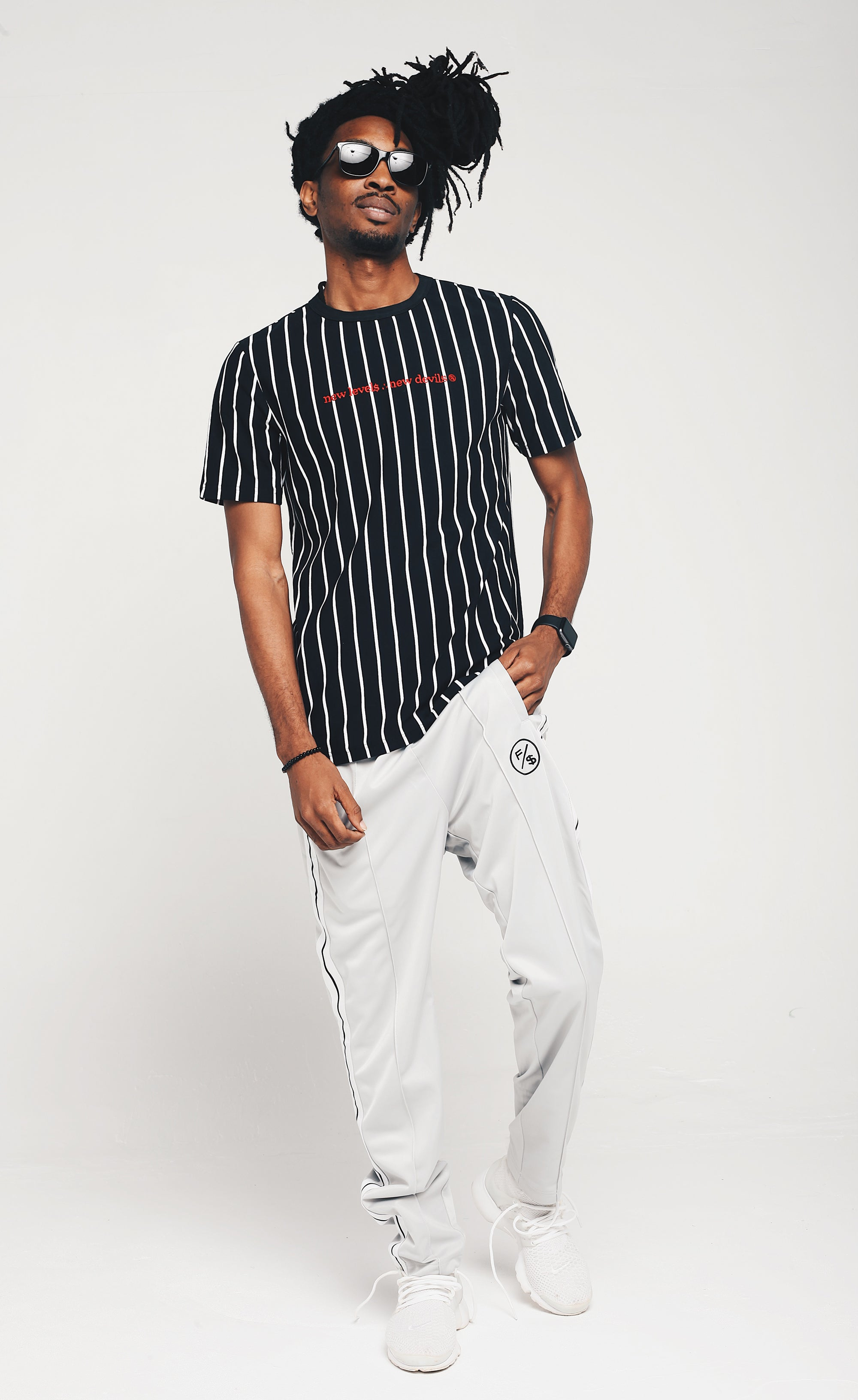 New Levels Stripe Shirt
